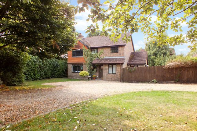Thumbnail Detached house for sale in Browning Road, Church Crookham, Fleet