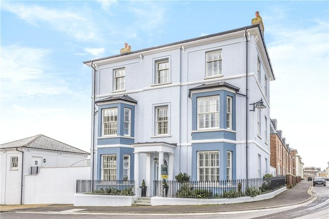 Front Elevation of Crown Street West, Poundbury, Dorset DT1