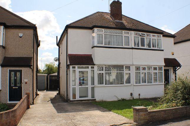 Thumbnail End terrace house to rent in Crosier Way, Ruislip