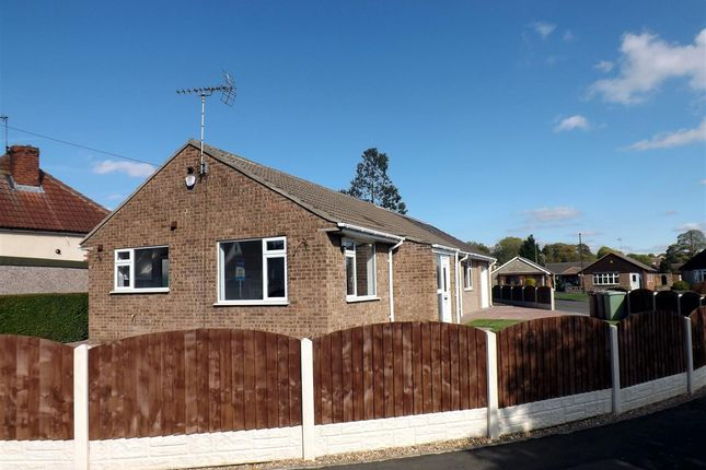 Thumbnail Bungalow for sale in Clifton Avenue, Barlborough, Chesterfield