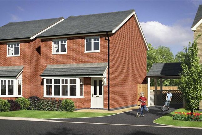 Thumbnail Detached house for sale in Plot 12, Heritage Green, Forden, Welshpool, Powys