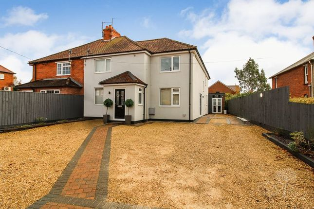 Thumbnail Semi-detached house for sale in Northfield Road, Thatcham