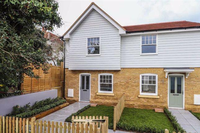 Thumbnail End terrace house for sale in Hertingfordbury Road, Hertford