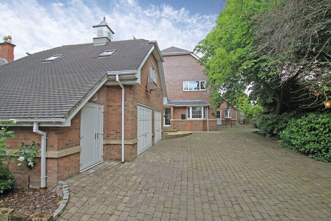 Thumbnail Detached house for sale in The Limes, Burton-On-Trent, Staffordshire