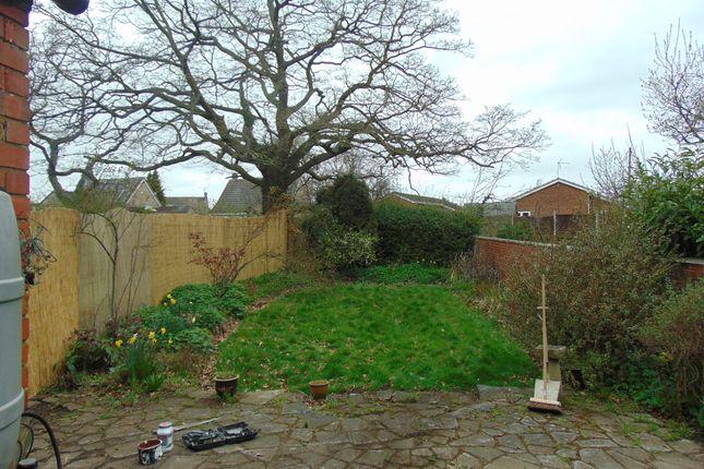 Garden of Newark Road, North Hykeham, Lincoln. LN6