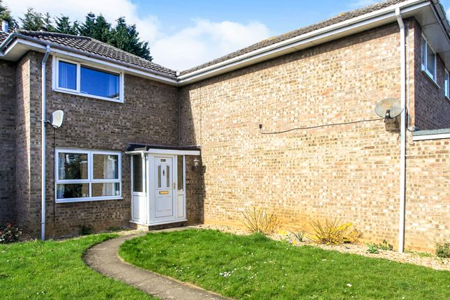 Thumbnail Terraced house for sale in Clover Road, Market Deeping, Peterborough