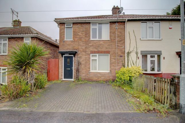 Thumbnail Semi-detached house for sale in Gertrude Road, Norwich
