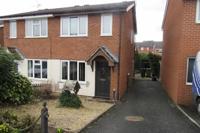 Thumbnail Semi-detached house to rent in Middleton Close, Oswestry, Shropshire