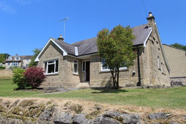 Thumbnail Detached bungalow for sale in Edgefold Road, Matlock