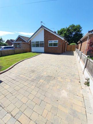 2 bed bungalow to rent in Alexandre Close, Derby DE23