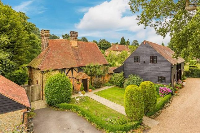 Thumbnail Detached house for sale in Kent Hatch Road, Oxted