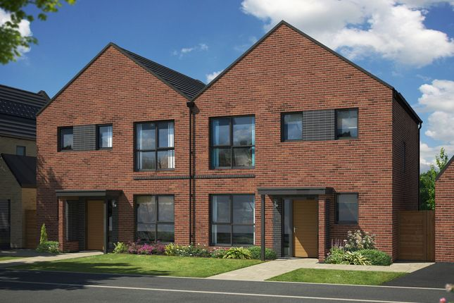 "Thumbnail Semi-detached house for sale in ""The Elm"" at Mount Ridge, Birtley, Chester Le Street"