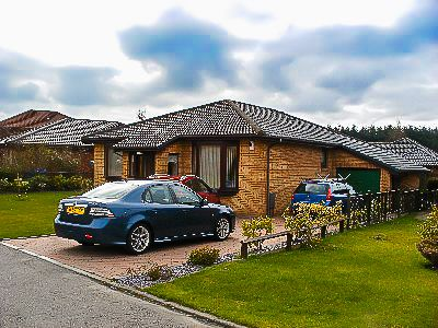 Thumbnail Detached bungalow to rent in Barns Green, Livingston