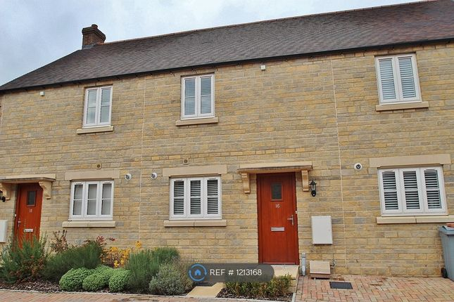 Thumbnail Terraced house to rent in Carriage Crescent, Witney