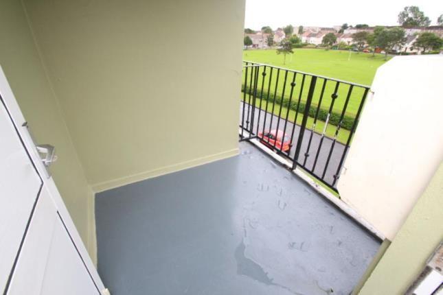 Balcony of Valley Gardens, Kirkcaldy, Fife KY2