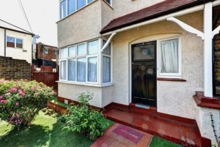 Thumbnail End terrace house for sale in Croyland Road, Edmonton