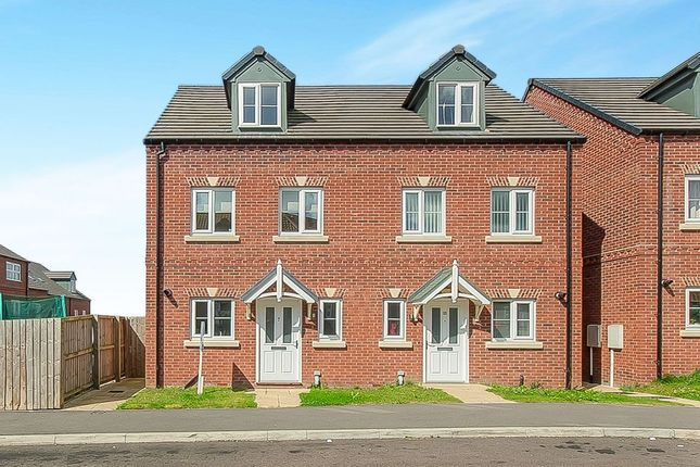 Thumbnail Semi-detached house for sale in Nickersons Walk, Caistor, Market Rasen