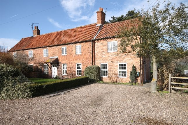 Thumbnail Cottage for sale in Manor Farm Cottages, Ollerton Road, Little Carlton, Nottinghamshire.