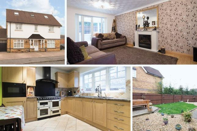 Thumbnail Detached house for sale in Daffodil Lane, Rogerstone, Newport
