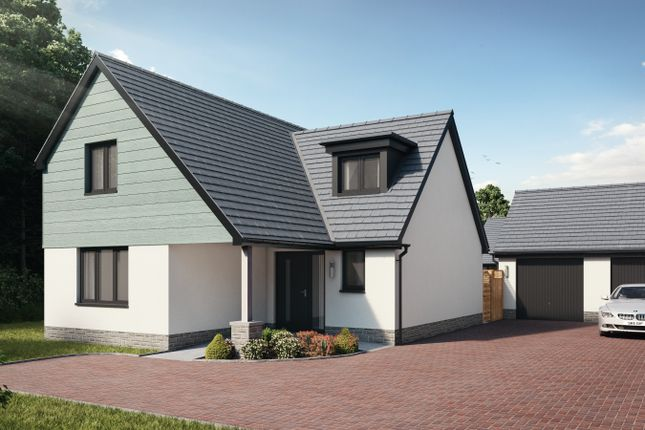 Thumbnail 3 bed detached house for sale in Plot 60 The Dinefwr, Caswell, Swansea