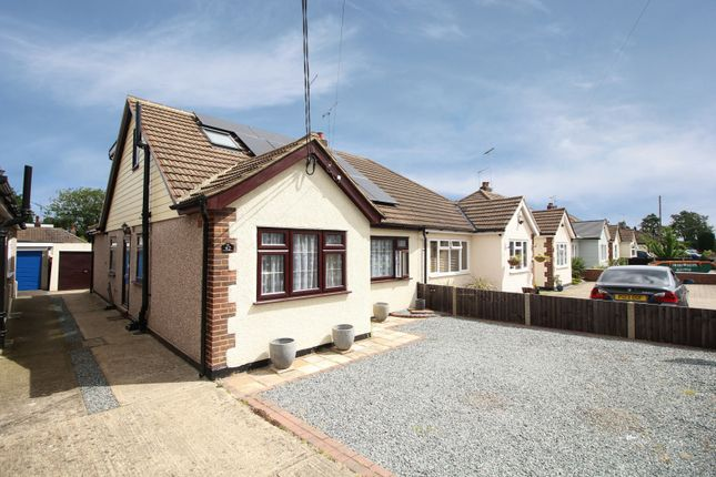 Thumbnail Semi-detached bungalow for sale in Orchard Lane, Brentwood, Essex