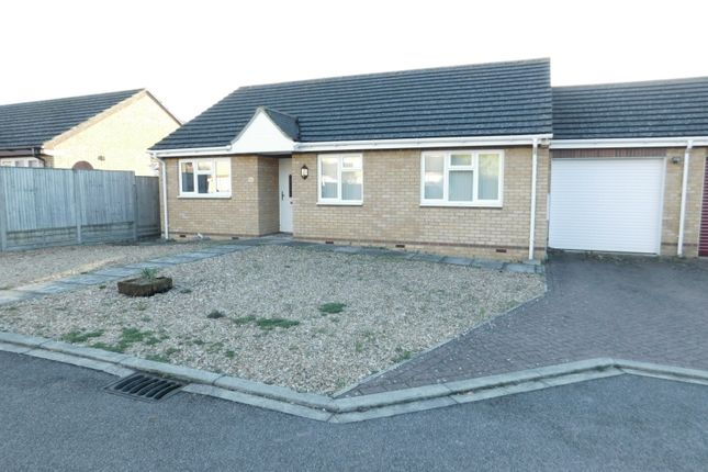 Thumbnail Semi-detached bungalow for sale in Netherstones, Stotfold, Hitchin, Herts