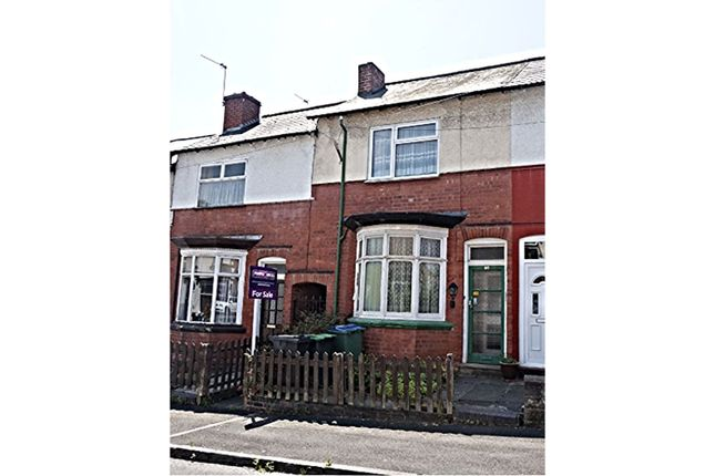 Thumbnail Terraced house for sale in Linden Road, Smethwick