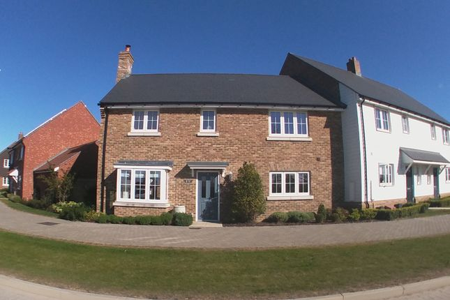 Thumbnail End terrace house to rent in Avocet Way, Finberry, Ashford, Kent 7Fr