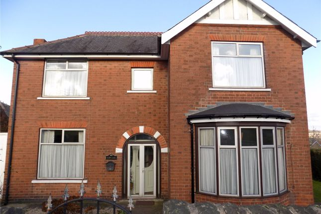 Thumbnail Detached house for sale in Laceyfields Road, Heanor, Derbyshire