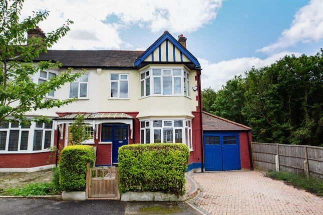 Thumbnail End terrace house for sale in Oak Hill Gardens, Woodford Green