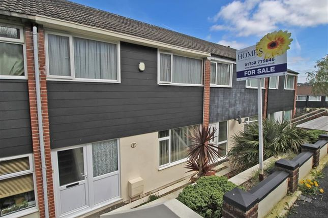 3 bed terraced house for sale in Dunley Walk, Plymouth, Devon