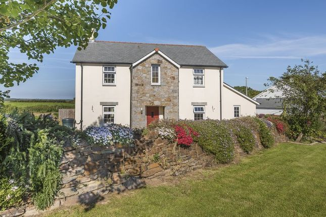 Thumbnail Detached house for sale in Higher Moor, Ruan Minor, Helston