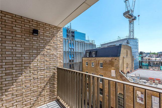 Balcony of Abernethy House, 47 Bartholomew Close, London EC1A