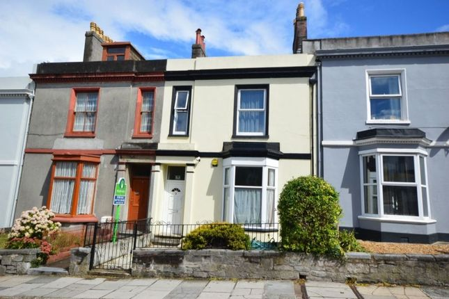 Thumbnail Terraced house to rent in Alexandra Place, Mutley, Plymouth