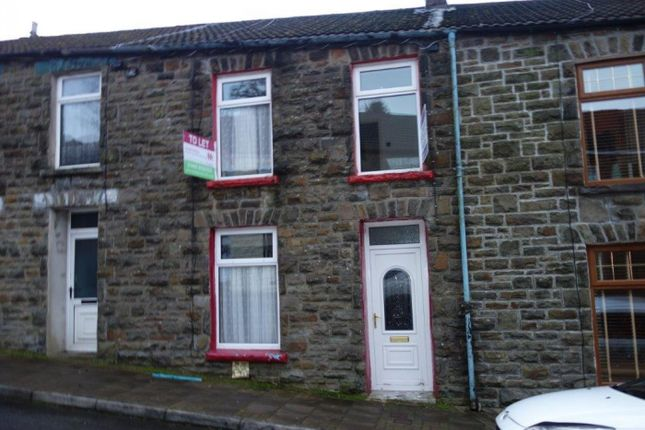 Thumbnail Terraced house to rent in Alma Street, Tynewydd