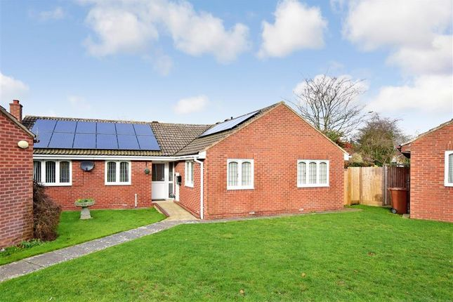 Thumbnail Detached bungalow for sale in Primrose Close, Chatham, Kent