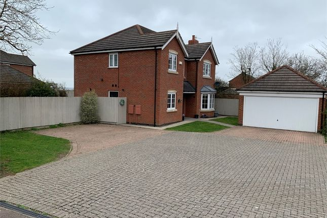 5 bed detached house for sale in Netherfield Close, Broughton Astley, Leicester LE9