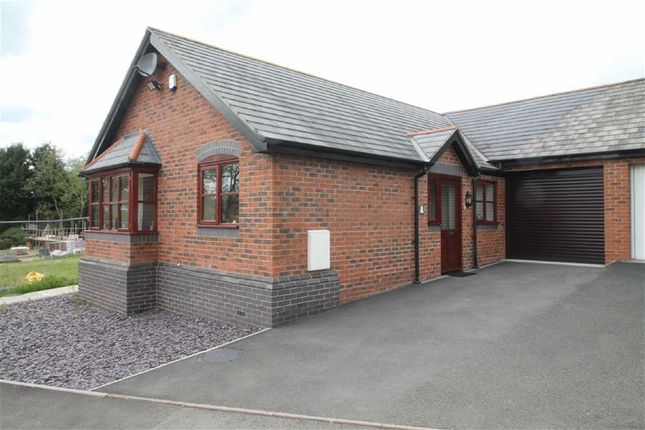 Thumbnail Detached bungalow for sale in Maes Neuadd, Off Hall Bank, Montgomery