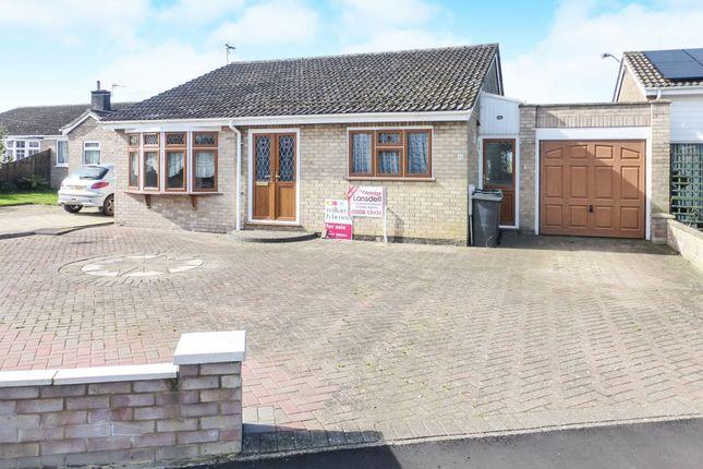 Thumbnail Detached bungalow for sale in St Michaels Road, Long Stratton, Norwich