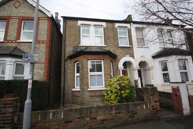 Thumbnail Semi-detached house to rent in Chatham Road, Kingston Upon Thames