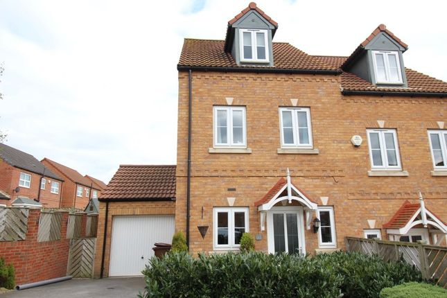 Thumbnail Semi-detached house for sale in Silverwood Grange, Ossett