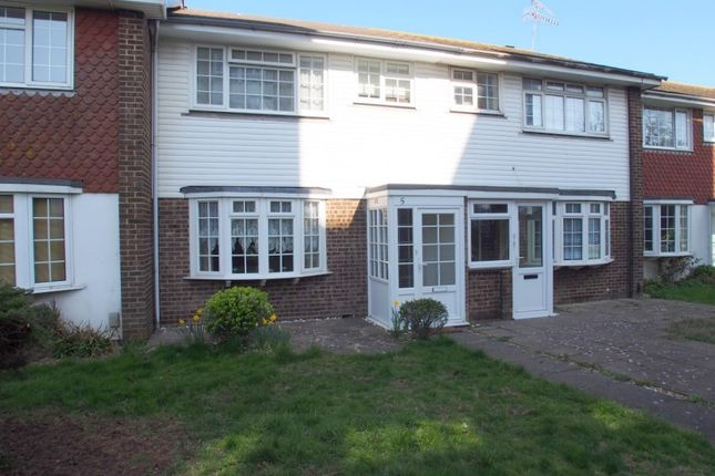 Thumbnail Terraced house to rent in Victoria Park Gardens, Worthing