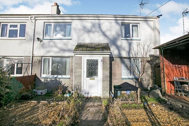 Thumbnail Semi-detached house for sale in Hawkins Place, Mitchell, Newquay, Cornwall