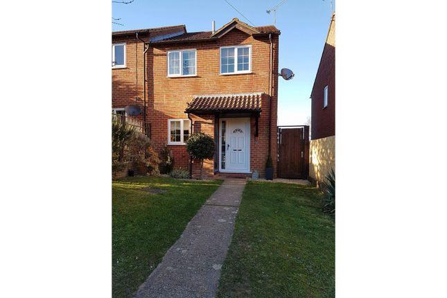Thumbnail Semi-detached house for sale in Garnet Road, Bordon