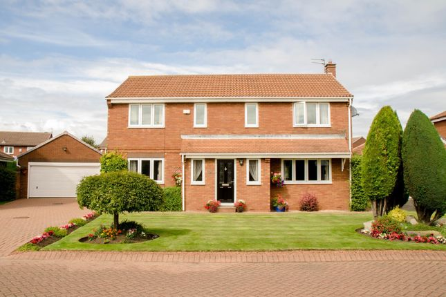 Thumbnail Detached house for sale in Cleadon Lea, Cleadon, Sunderland