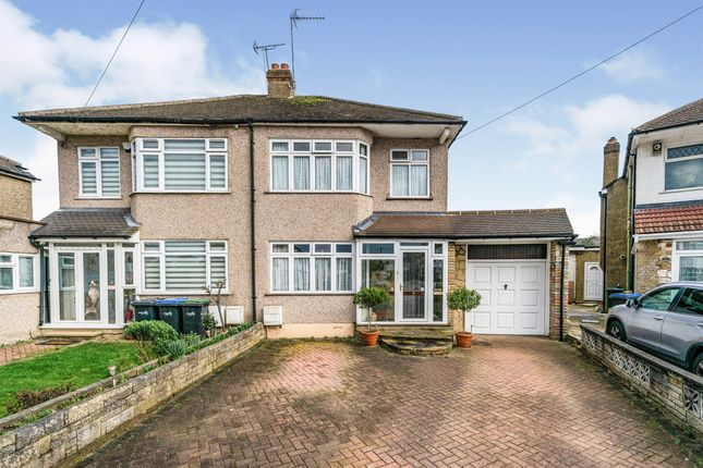 Thumbnail Semi-detached house for sale in Colvin Gardens, Waltham Cross