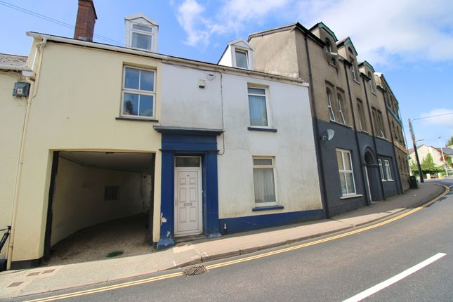 Thumbnail Terraced house for sale in Barnstaple Street, South Molton