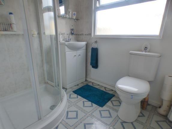 Shower Room of Park Road, Briar Bank Park, Wilstead, Bedfordshire MK45