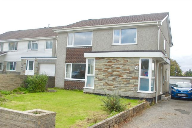 Thumbnail Detached house for sale in Hallane Road, St Austell, Cornwall