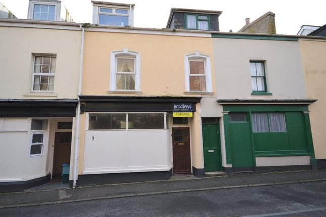 Thumbnail Terraced house for sale in Bitton Park Road, Teignmouth, Devon